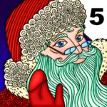 Christmas Santa Prime Color by Numbers Paint Book (MOD, Unlimited Money) 1.16