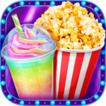 Crazy Movie Night Food Party – Make Popcorn & Soda (MOD, Unlimited Money) 1.4