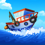 Fish idle: hooked tycoon. Fishing boat, hooking  4.0.20