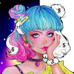 Sweet Coloring Color by Number Painting Game   (MOD, Unlimited Money) 1.0.19