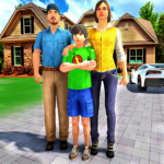 Happy Family Life Dad Mom – Virtual Housewife Care (MOD, Unlimited Money) 1.1