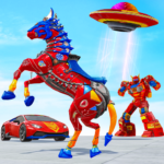 Horse Robot Car Game – Space Robot Transform wars (MOD, Unlimited Money) 1.1.1