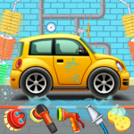 Kids Car Wash Service Auto Workshop Garage  3.2