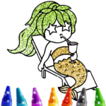 Mermaid Coloring Book Glitter (MOD, Unlimited Money) 1.0
