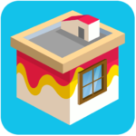 Paint wall | Exciting House Painting Puzzle Game (MOD, Unlimited Money) 8.53