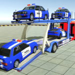 Police Car Transporter 3d: City Truck Driving Game (MOD, Unlimited Money) 3.4