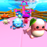 Race Falling 3D Run Guys KnockOut Game Dudes (MOD, Unlimited Money) 1.4