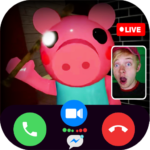 Scary Piggy Granny 📱 video call & talk + chat (MOD, Unlimited Money) 1.0