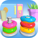 Stack It 3D – Color Sorting Hoops (MOD, Unlimited Money) 1.0