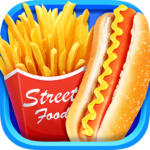 Street Food  – Make Hot Dog & French Fries (MOD, Unlimited Money) 1.7