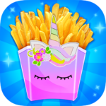 Unicorn French Fries – Trendy Unicorn Carnival (MOD, Unlimited Money) 1.1