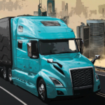 Virtual Truck Manager Tycoon trucking company   (MOD, Unlimited Money) 1.1.56