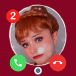 fake Call from  Anna  📱 Chat&video call (MOD, Unlimited Money) 2.2.0