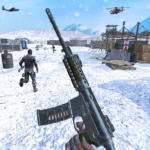 Action shooting games : Commando Games   (MOD, Unlimited Money) 4.32