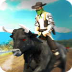 Angry Bull Attack – Cowboy Racing (MOD, Unlimited Money) 1.3