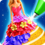 Doll Ice Cream Cake Baking 2019: World Food Maker (MOD, Unlimited Money) 1.0.05