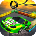 Impossible Car Stunt Games: Extreme Racing Tracks  3.6