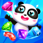 Panda Gems – Jewels Match 3 Games Puzzle (MOD, Unlimited Money) 2.2.9