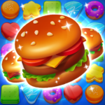 Cooking Crush Legend – Free New Match 3 Puzzle (MOD, Unlimited Money) 1.1.2
