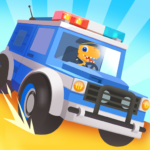 Dinosaur Police Car – Police Chase Games for Kids (MOD, Unlimited Money) 1.1.3
