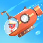 Dinosaur Submarine: Games for kids & toddlers (MOD, Unlimited Money) 1.0.5