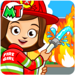 Fireman, Fire Station & Fire Truck Game for KIDS (MOD, Unlimited Money) 1.08