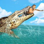 Hungry Crocodile Wild Hunt Simulation Game (MOD, Unlimited Money) 8.3
