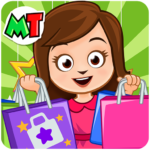 My Town: Shopping Mall – Shop & Dress Up Girl Game   (MOD, Unlimited Money) 1.12