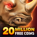 Rhino Fever: Free Slots & Hollywood Casino Games (MOD, Unlimited Money) 1.50.7