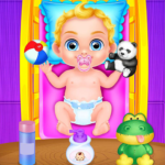 Babysitter Crazy Baby Daycare – Fun Games for Kids   (MOD, Unlimited Money) 1.0.10