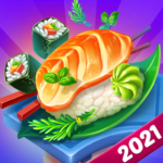 Cooking Love Crazy Chef Restaurant cooking games   (MOD, Unlimited Money) 1.1.0