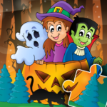 Halloween Puzzle for kids & toddlers 🎃 (MOD, Unlimited Money) 2021.39