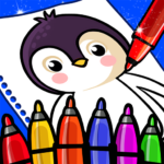 Happy Coloring Book Learn Paint : Coloring Games (MOD, Unlimited Money) 0.13