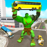 Incredible Monster City Hero Battle Mission 2021 (MOD, Unlimited Money) 1.1