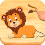 Jigsaw Puzzles For Kids – Animals Shapes (MOD, Unlimited Money) 1.6