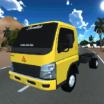 Truck Oleng Canter Simulator (Indonesia)   (MOD, Unlimited Money) 1.3