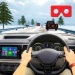 VR Traffic Racing In Car Driving : Virtual Games (MOD, Unlimited Money) 1.0.22