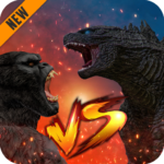 Godzilla & Kong 2021: Angry Monster Fighting Games  (MOD, Unlimited Money) 4