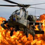 Gunship Force: Free Helicopter Games Attack 3D (MOD, Unlimited Money) 3.66.9