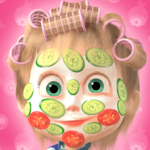 Masha and the Bear: Hair Salon and MakeUp Games (MOD, Unlimited Money) 1.2.4
