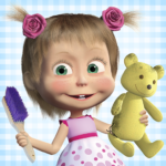 Masha and the Bear: House Cleaning Games for Girls (MOD, Unlimited Money) 2.0.0