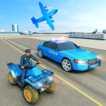 USA Police Car Transporter Games: Airplane Games (MOD, Unlimited Money) 1.4