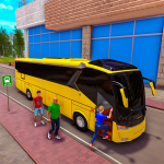 City Coach Bus Driving Simulator: Free Bus Game 21 (MOD, Unlimited Money)