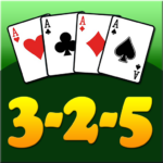 3 2 5 card game (MOD, Unlimited Money)