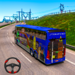 Euro Uphill Bus Simulator : New Bus Game 2021 (MOD, Unlimited Money)