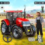 Farming Game 2021 – Free Tractor Driving Games (MOD, Unlimited Money)