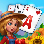 Free Solitaire Farm: Harvest Seasons – Card Game (MOD, Unlimited Money)