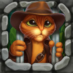Indy Cat 2: Match 3 free game – jigsaw, puzzles (MOD, Unlimited Money)