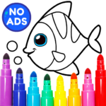 Learning & Coloring Game for Kids & Preschoolers  29.0