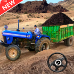 New Tractor trolley Farming Cargo Driver 3D (MOD, Unlimited Money)
